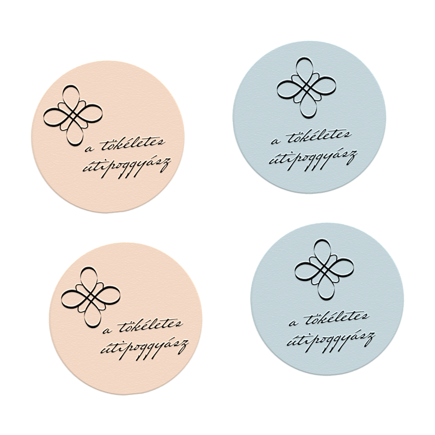 sticker designs with logo and business name and slogan