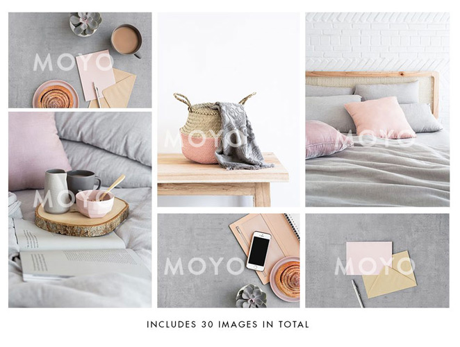 Moyo Pink Collection stock images